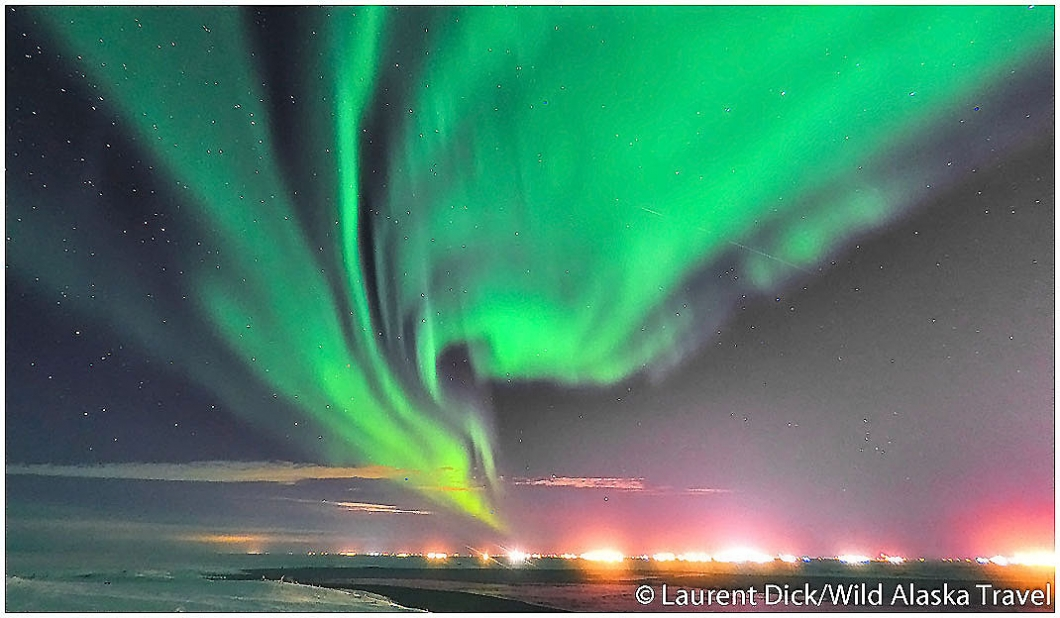 Alaska Northern Lights Viewing Over Deadhorse - Photo (c) Laurent Dick - Wild Alaska Travel