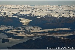 Juneau Alaska Juneau Icefield Aerial Photograph - Photo (c) Laurent Dick - Wild Alaska Travel