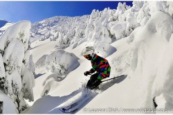 Florian Skiing Powder at Eaglecrest Ski Area - Photo (c) Laurent Dick - Wild Alaska Travel