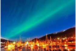 Northern Lights Douglas Harbor - Photo (c) Laurent Dick - Wild Alaska Travel