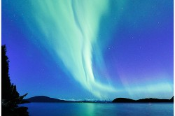 Northern Lights Over Fritz Cover Juneau - Photo (c) Laurent Dick - Wild Alaska Travel