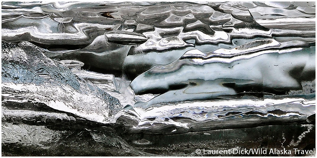 Abstract Ice Patterns (c) Laurent Dick - Wild Alaska Travel