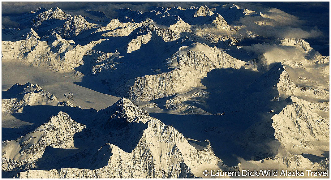 Wrangell St Elias National Park and Preserve Wilderness Aerial ---- Photo (c) Laurent Dick - Wild Alaska Travel