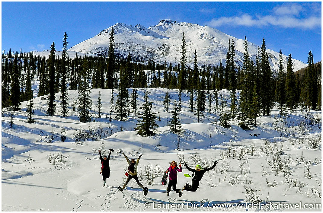 Brooks Range Winter Hiking - Photo (c) Laurent Dick - Wild Alaska Travel
